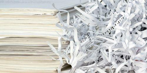 destruction documents numerises