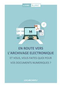 Livre blanc sur l'archivage électronique